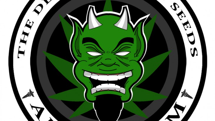 Cannabis Lovers - Devil's Harvest Amsterdam Logo 2015