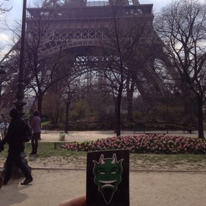 Devils Sticker Eiffel Tower