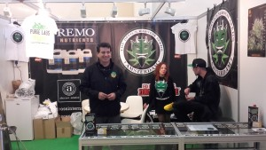 Devil's Harvest Booth at Spannabis 2016