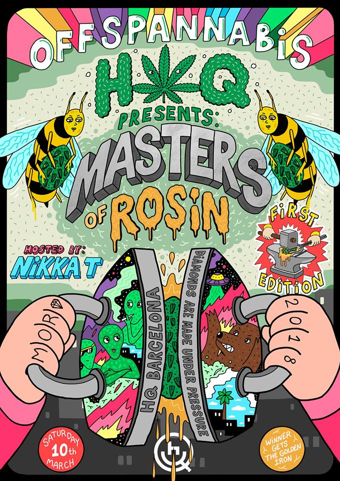 click for the Masters of Rosin Facebook page.