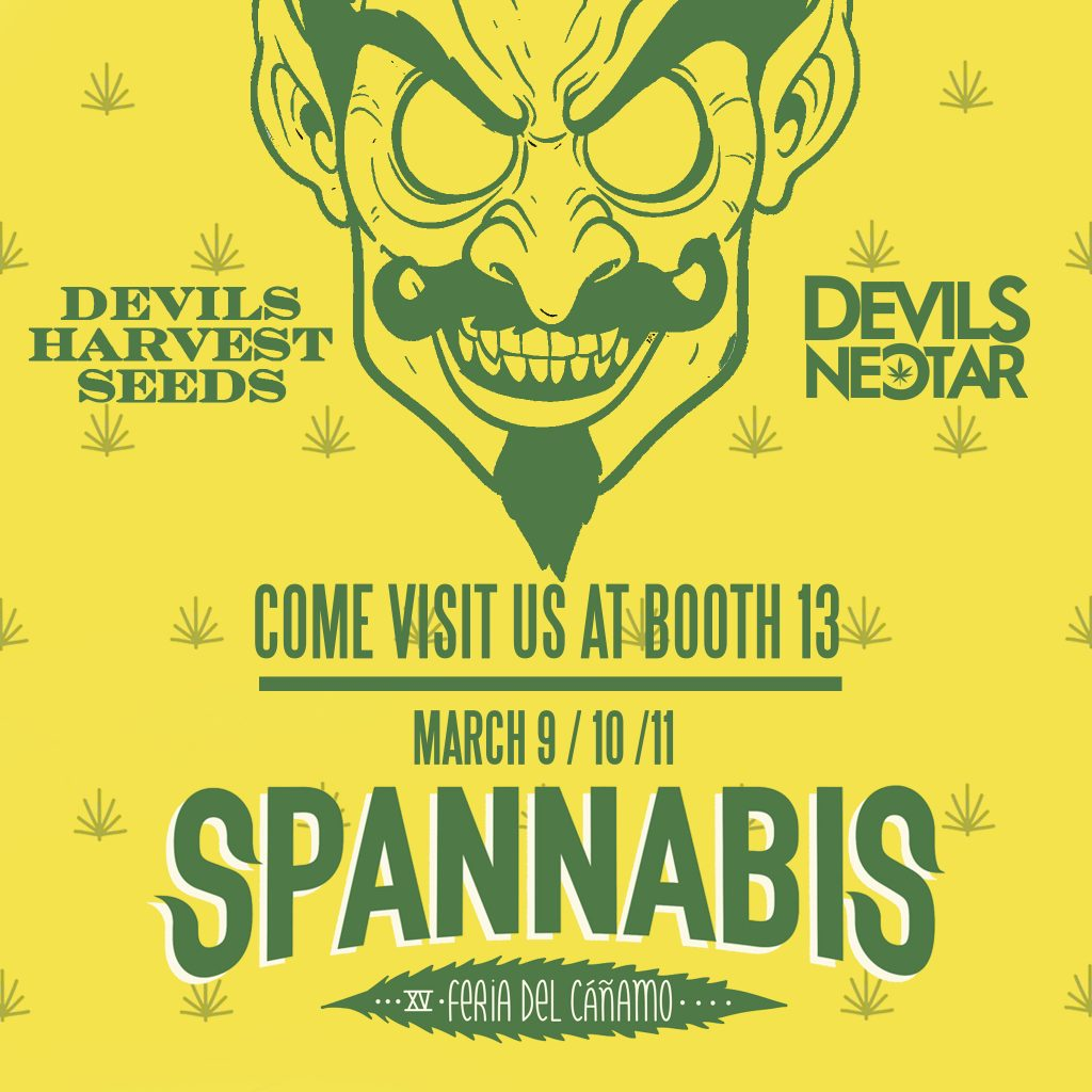 Booth 13 at Spannabis 2018.