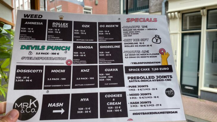 Devils Punch Mr.K Menu